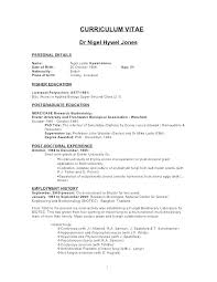 Higher Education Resume Interesting Zoologist Career Information 48 Schools Zoologist Job Duties Resume