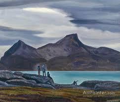 rockwell kent paintings for sermilik fjord greenland