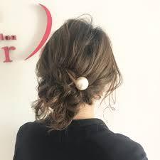 ネジネジするだけで簡単ねじりハーフアップのやり方 Hair