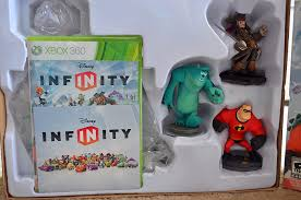 infinity 360. infinity is an appropriate name for a game with tons of play possibilities. you can characters from variety disney movies, and the starter 360