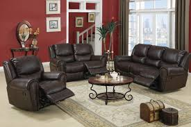 living room with recliners. circulade3piece recliner living room set in choco bonded leather with recliners i