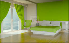 Cool Bedroom Color Design With Green Color Stylendesigns Com