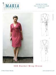 Dress Sewing Patterns Best MariaDenmark 48 Rachel Wrap Dress Sewing Pattern