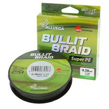 <b>Рыболовная леска ALLVEGA</b> Bullit Braid 135м 0,18 зеленый ...