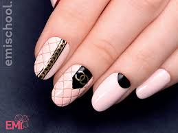 Chanel Nail Design How To Do 3d Nail Art Step By Step Emi In Dubai Uae