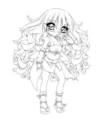 Small Picture Cute Little Ninja in Anime Girl Colouring Page Happy Colouring