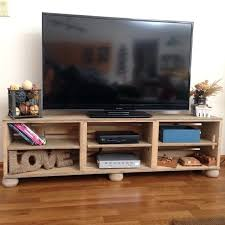 wooden crate tv stand like this item diy wood crate tv stand