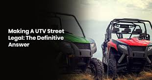 Am i required to carry utv insurance? Making A Utv Street Legal The Definitive Answer Compett