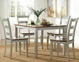 antique white kitchen dining set. lovely antique white dining table set room kitchen 0