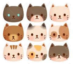 cat face clipart. Contemporary Cat Cat Face Stock Vector Illustration And Royalty Free Clipart On