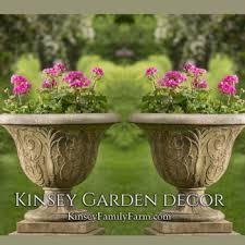 cast stone urn planters kinsey garden