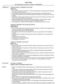 Apartment Property Manager Sample Resume Archives 1080 Player