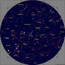 Star Chart For November Calgary Star Chart For November