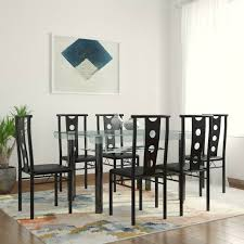 all wood dining room table. Woodness Salsa Glass 6 Seater Dining Set All Wood Room Table