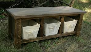 reclaimed wood pallet bench. Image Of: Rustic Entryway Bench With Storage Reclaimed Wood Pallet H