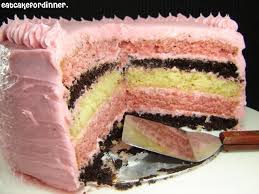 Eat Cake For Dinner NEAPOLITAN CAKE