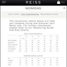 Reiss Size Chart Mens