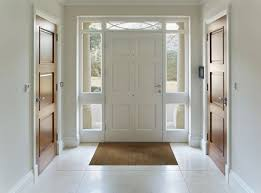 a white door is best for west facing entry