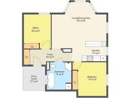 bedroom floor plan.  Bedroom 1 Bedroom Floor Plan In F