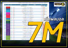 7M ผลบอล ผลบอลสด ผลบอลรวดเร็ว ตลอด 24 ชั่วโมง - 9Tiger.VIP