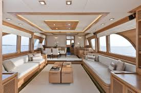 Wonderful Wide Beam Boat Interior Design Pictures Ideas