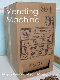 How To Make A Vending Machine Out Of A Shoebox Enchanting VENDING MACHINE TEMPLATE AND CUTTING FILE Bags Boxes For Treats