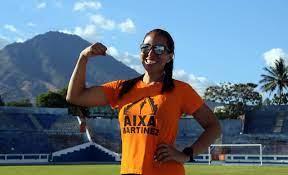 Aixa Martínez culminó con éxito la carrera de 24 horas – Instituto Nacional  de los Deportes de El Salvador