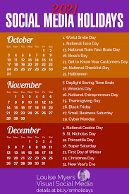 social a holidays you need in 2020