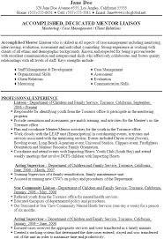 Liaison Resume Sample Brilliant Ideas Of Social Worker Resume