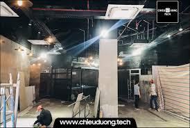 Lắp đặt dàn loa bose cho quán Cafe – Chiêu Dương Tech