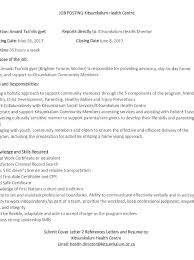 Family Support Worker Cover Letter Sarahepps Com
