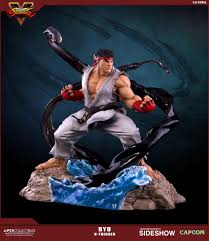 street fighter ryu v trigger statue by pop culture shock