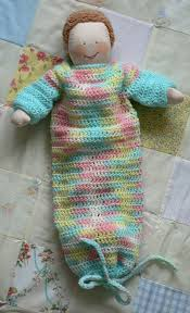 Free Crochet Baby Bunting Pattern