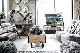 industrial style living room furniture. Lovely Industrial Living Room Furniture Or Loft 26 Sofa . Style A