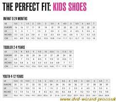 Infant Size Chart New Balance Infant Size Chart Dvd Wizard Pro Co Uk