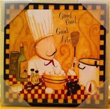 fat chef kitchen wall decor wallpaper border character cut