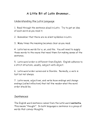 Latin Grammar Pages 59 63