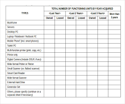 format of inventory it inventory templates 12 free sample example format download