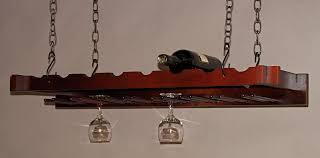 interior pretty diy hanging wine rack glass racks ceiling stemware with black wall mounted plans diy