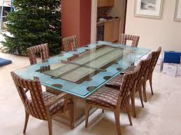 dining table design with glass top. glass dining tables geometric isomer l sans soucie table design with top