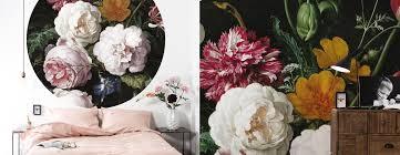 Behang Met Kleurrijke Bloemen Uit De Gouden Eeuw Kek Amsterdam