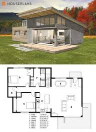 modern tiny house plans. Wonderful Modern Small Modern Cabin House Plan By FreeGreen Throughout Tiny House Plans I