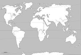 Monde Dessin Terre Ocean Continent Ameriquel