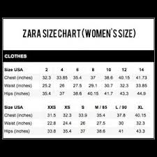 Zara Size Chart Mens Shoes Www Bedowntowndaytona Com