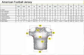 Size Chart Shenzhen Custom Sports Wear Co Ltd
