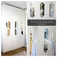 Diy Mirrored Closet Doors Great Home Interior and Furniture Design
