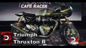 2016 triumph thruxton r first