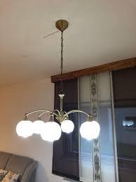 Kronleuchter Gold Lampe Deckenlampe Hänge