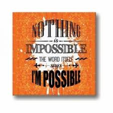 inspirational frames for office. Yaya Cafe Motivational Quotes Wall Frames Nothing Is Impossible Inspirational Posters For Office, Study Room Office N