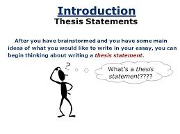 the thesis statement © by ruth luman a road map for your  2 the thesis statement © 2001 by ruth luman a road map for your essay references essay introduction thesis statement body paragraph 1 body paragraph 2